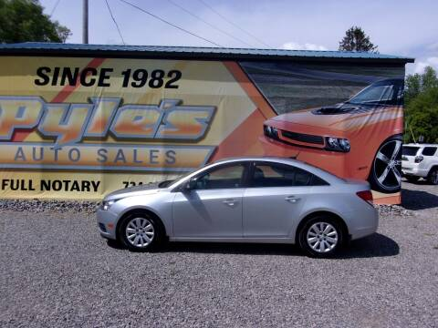2011 Chevrolet Cruze for sale at Pyles Auto Sales in Kittanning PA