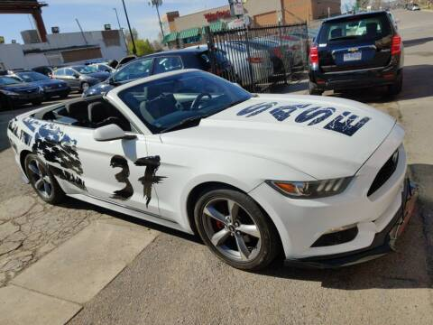 2015 Ford Mustang for sale at Sanaa Auto Sales LLC in Denver CO