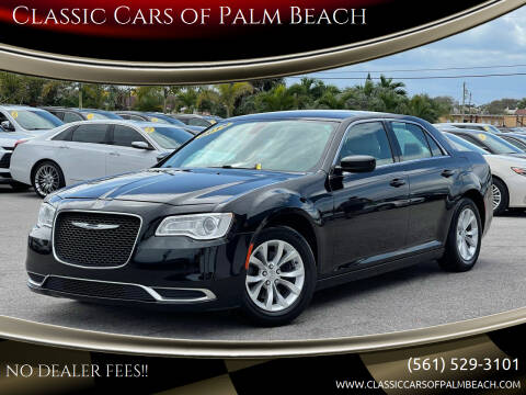 2015 Chrysler 300 for sale at Classic Cars of Palm Beach in Jupiter FL
