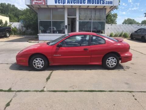 2001 Pontiac Sunfire for sale at Velp Avenue Motors LLC in Green Bay WI