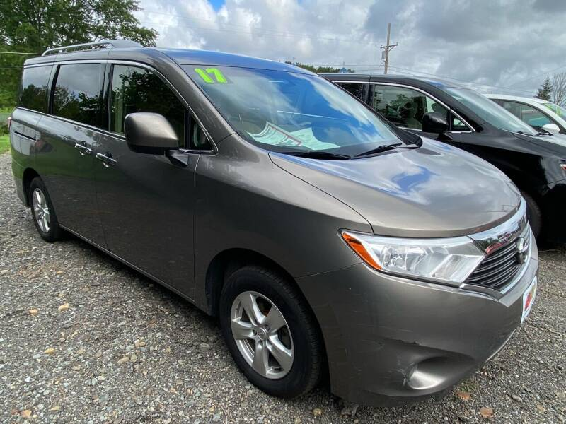 2017 Nissan Quest for sale at ALL WHEELS DRIVEN in Wellsboro PA