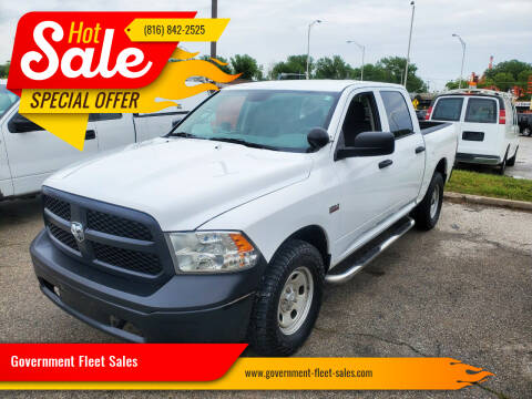2014 RAM Ram Pickup 1500 for sale at Government Fleet Sales in Kansas City MO