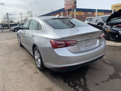 2021 Chevrolet Malibu for sale at STS Automotive in Denver CO