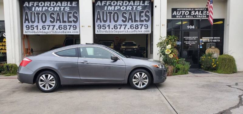 2009 Honda Accord for sale at Affordable Imports Auto Sales in Murrieta CA