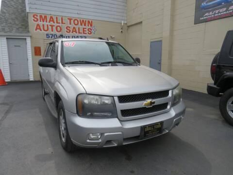 2007 Chevrolet TrailBlazer for sale at Small Town Auto Sales in Hazleton PA