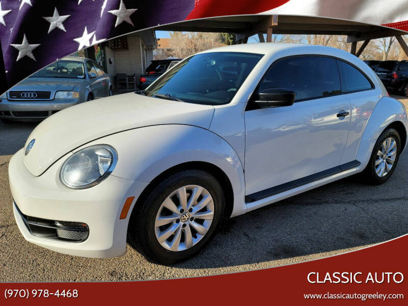 2013 Volkswagen Beetle for sale at Classic Auto in Greeley CO