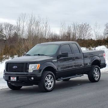 2014 Ford F-150 for sale at R & R AUTO SALES in Poughkeepsie NY