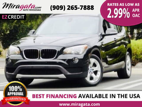 2014 BMW X1 for sale at Miragata Auto in Bloomington CA
