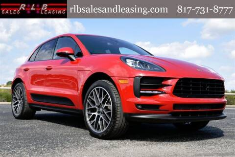 2020 Porsche Macan for sale at RLB Sales and Leasing in Fort Worth TX