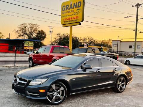 2012 Mercedes-Benz CLS for sale at Grand Auto Sales in Tampa FL