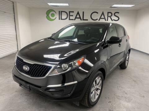 2016 Kia Sportage for sale at Ideal Cars Atlas in Mesa AZ