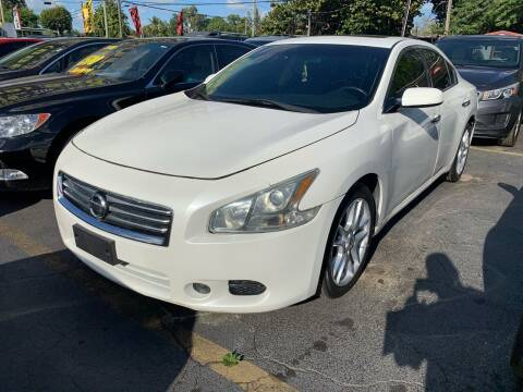 2013 Nissan Maxima for sale at America Auto Wholesale Inc in Miami FL