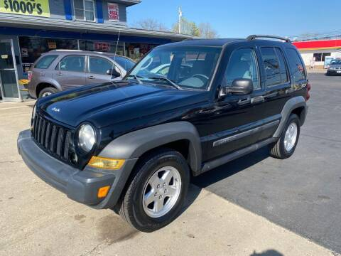 2006 Jeep Liberty for sale at Wise Investments Auto Sales in Sellersburg IN