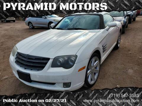 2006 Chrysler Crossfire for sale at PYRAMID MOTORS - Pueblo Lot in Pueblo CO
