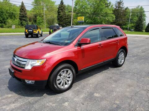 2010 Ford Edge for sale at Motorsports Motors LLC in Youngstown OH