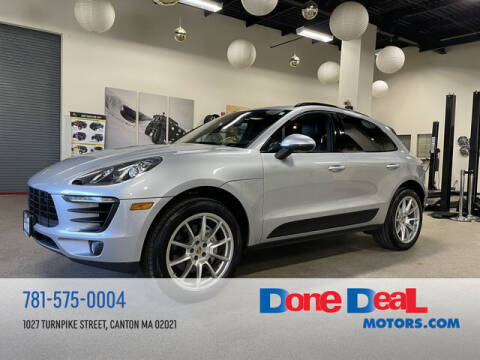 2015 Porsche Macan for sale at DONE DEAL MOTORS in Canton MA