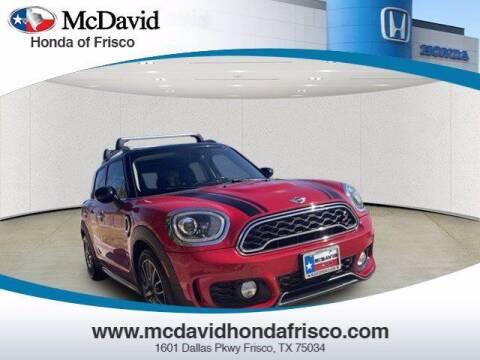 2018 MINI Countryman for sale at DAVID McDAVID HONDA OF IRVING in Irving TX