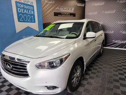 2013 Infiniti JX35 for sale at X Drive Auto Sales Inc. in Dearborn Heights MI