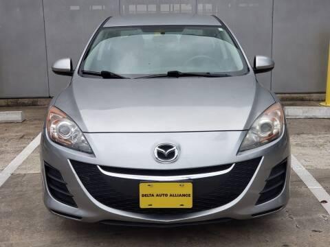 2010 Mazda MAZDA3 for sale at Delta Auto Alliance in Houston TX