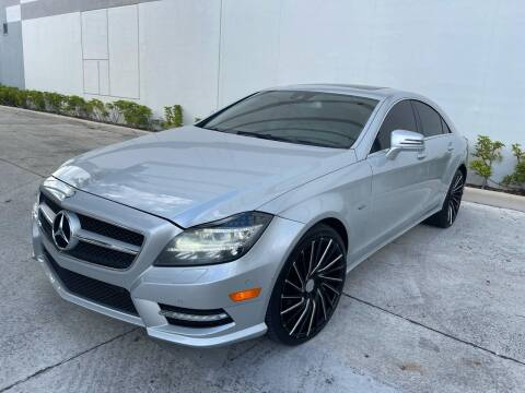 2012 Mercedes-Benz CLS for sale at Auto Beast in Fort Lauderdale FL