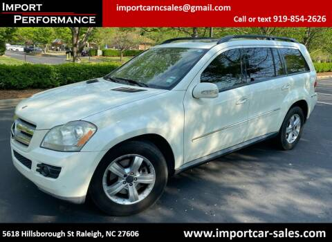 2008 Mercedes-Benz GL-Class for sale at Import Performance Sales in Raleigh NC