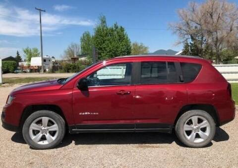 2015 Jeep Compass for sale at Central City Auto West in Lewistown MT