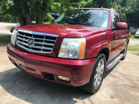 2005 Cadillac Escalade ESV for sale at Day Family Auto Sales in Wooton KY