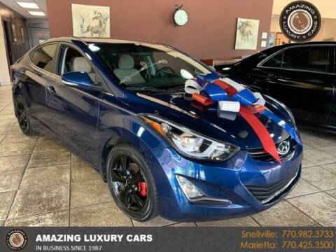 2016 Hyundai Elantra for sale at Amazing Luxury Cars in Snellville GA