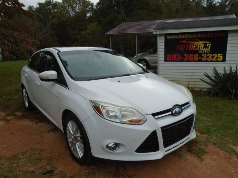 2012 Ford Focus for sale at Hot Deals Auto LLC in Rock Hill SC