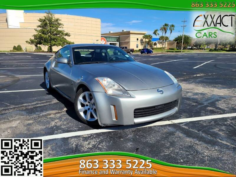 2004 Nissan 350Z for sale at Exxact Cars in Lakeland FL