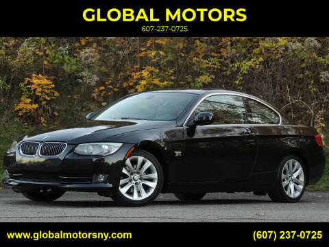 2011 BMW 3 Series for sale at GLOBAL MOTORS in Binghamton NY