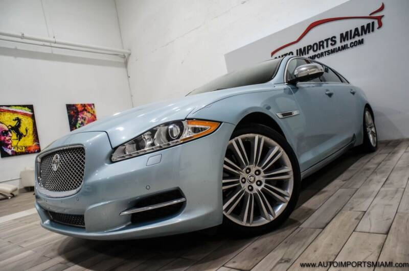2013 Jaguar XJL for sale at AUTO IMPORTS MIAMI in Fort Lauderdale FL