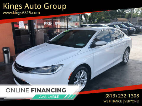 2015 Chrysler 200 for sale at Kings Auto Group in Tampa FL