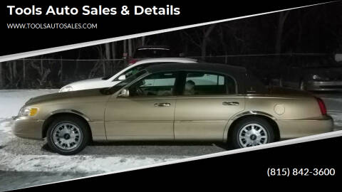 1998 Lincoln Town Car for sale at Tools Auto Sales & Details in Pontiac IL