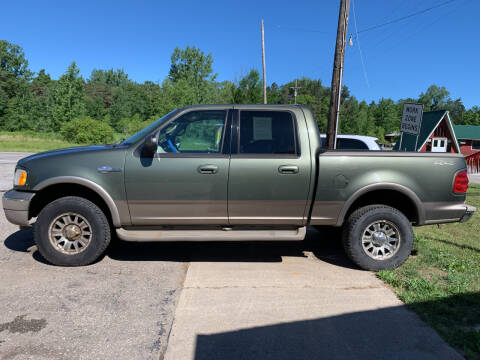 2002 Ford F-150 for sale at CARS R US in Caro MI