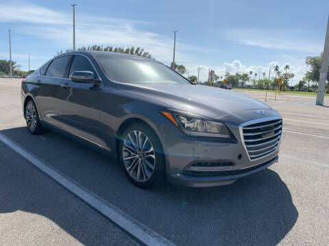 2015 Hyundai Genesis for sale at Nation Autos Miami in Hialeah FL