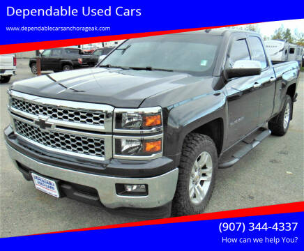 2014 Chevrolet Silverado 1500 for sale at Dependable Used Cars in Anchorage AK