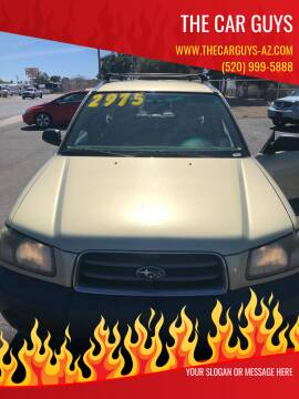 2003 Subaru Forester for sale at The Car Guys in Tucson AZ