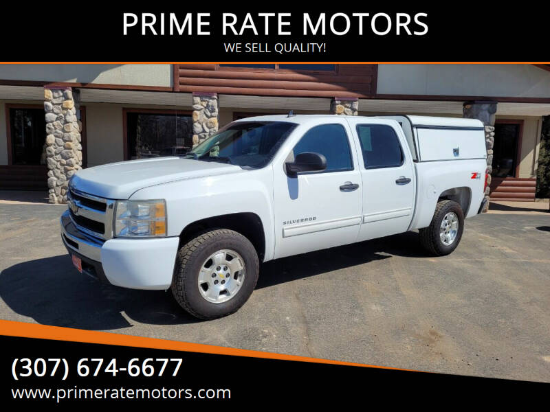 2010 Chevrolet Silverado 1500 for sale at PRIME RATE MOTORS in Sheridan WY
