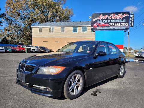 2008 BMW 3 Series for sale at Auto Outlet Sales and Rentals in Norfolk VA