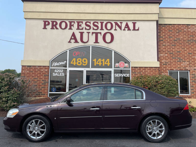 2008 Buick Lucerne for sale at Professional Auto Sales & Service in Fort Wayne IN