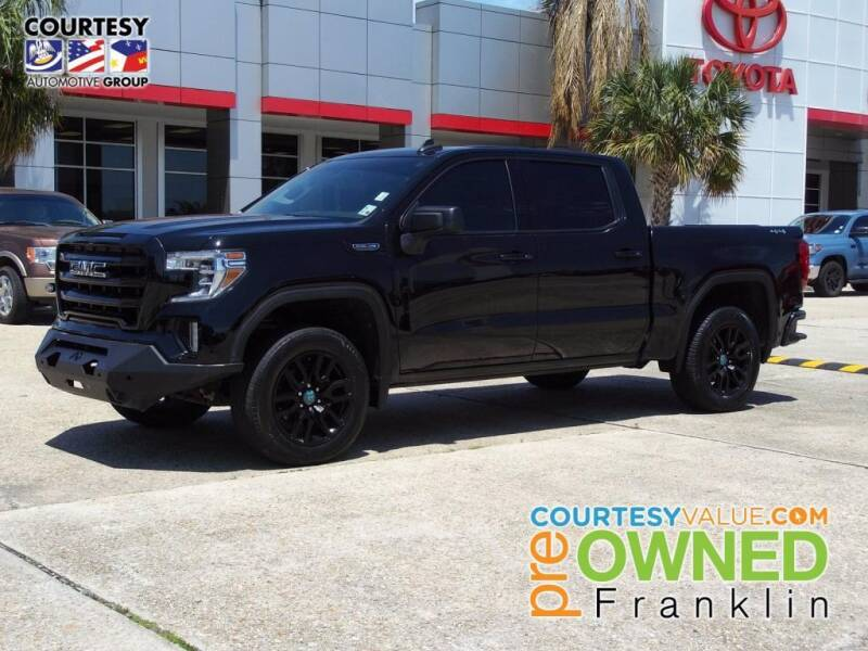 2020 GMC Sierra 1500 for sale at Courtesy Toyota & Ford in Morgan City LA