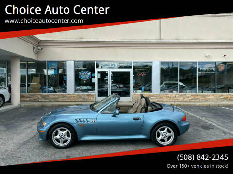 1999 BMW Z3 for sale at Choice Auto Center in Shrewsbury MA