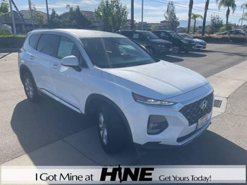 2019 Hyundai Santa Fe for sale at John Hine Temecula in Temecula CA