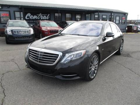 2014 Mercedes-Benz S-Class for sale at Central Auto in South Salt Lake UT