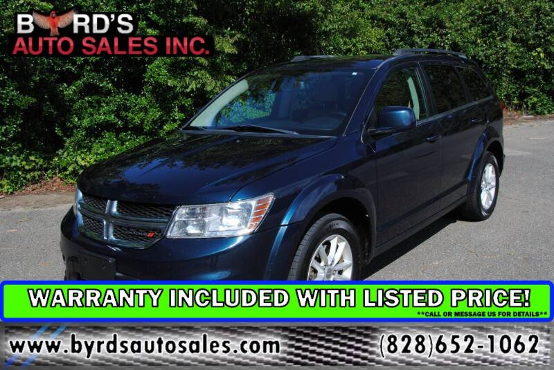 2014 Dodge Journey for sale at Byrds Auto Sales in Marion NC