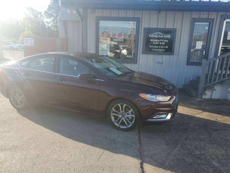 2017 Ford Fusion for sale at Rutledge Auto Group in Palestine TX
