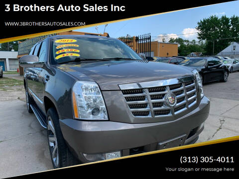 2014 Cadillac Escalade ESV for sale at 3 Brothers Auto Sales Inc in Detroit MI