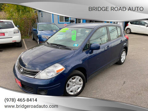 2012 Nissan Versa for sale at Bridge Road Auto in Salisbury MA