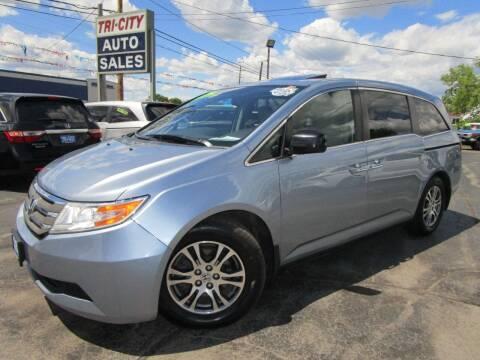 2013 Honda Odyssey for sale at TRI CITY AUTO SALES LLC in Menasha WI